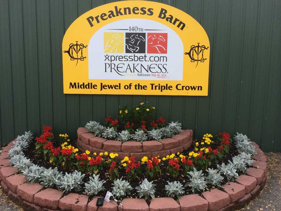 Preakness Stakes Barn