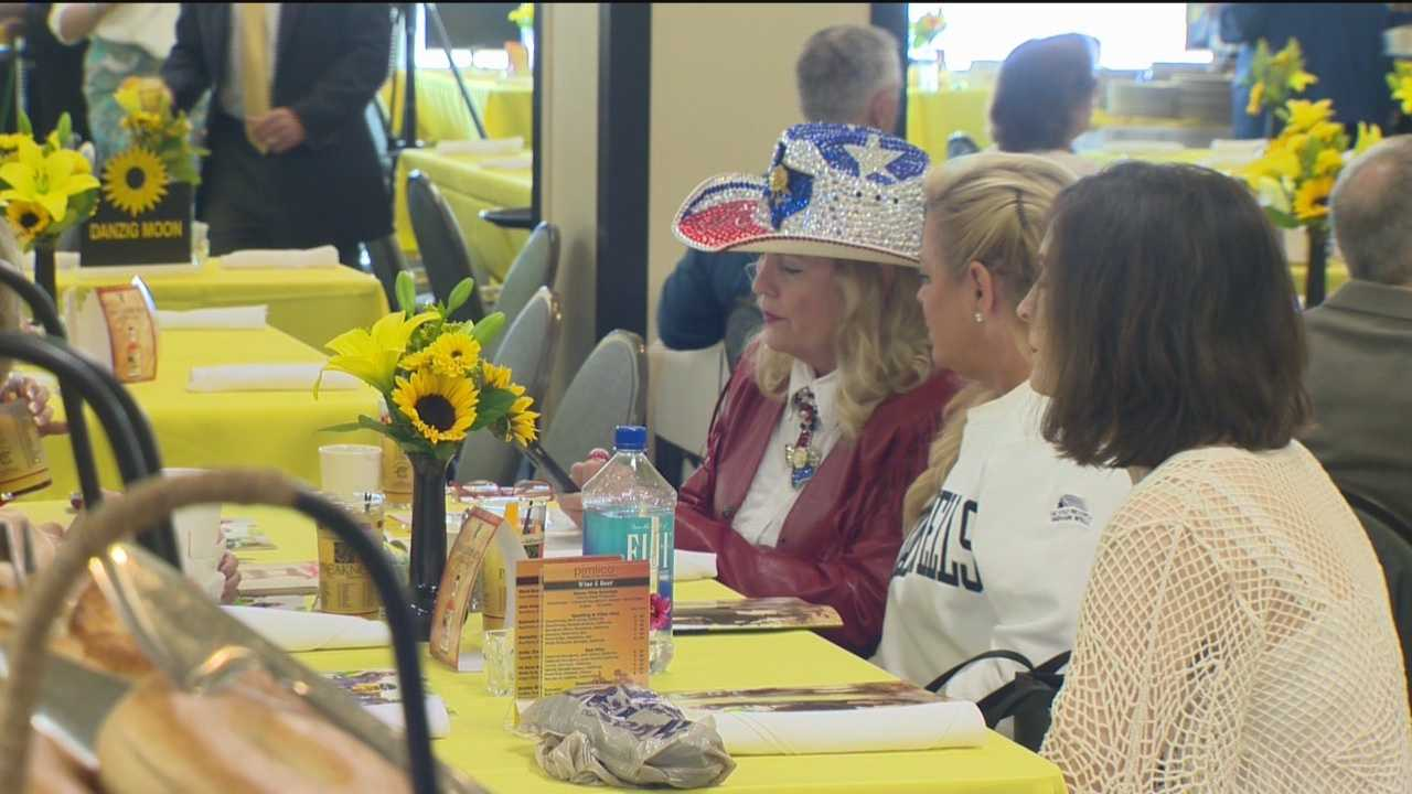 The events for Preakness week continued Thursday at Pimlico with the annual Alibi Breakfast.