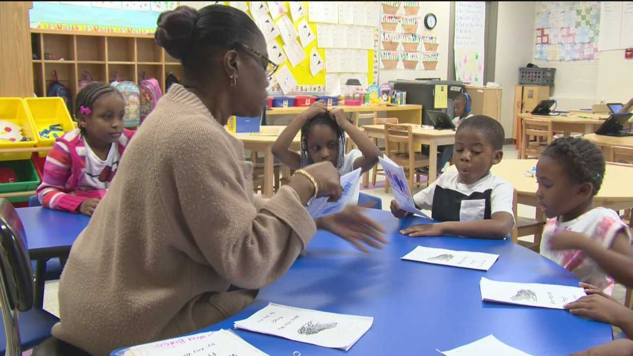 Baltimore City school officials want more parents to sign up their 4-year-old kids for pre-kindergarten to make sure students will have a seat come this fall.