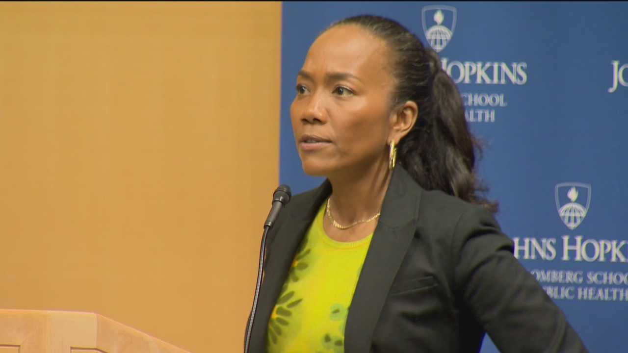 """The Wire"" actress Sonja Sohn moderated an event called Rewiring Baltimore for Change, which explores the next steps for Baltimore following the unrest."