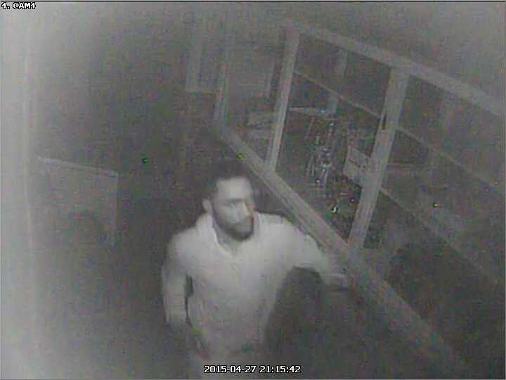 Arson at Cash Pawn USA at 2109 W. Pratt Street. The ATF, Baltimore Police Department and Maryland State Fire Marshal's Office are offering up to a $10,000 reward for information leading to the identification, arrest and conviction of the individual pictured above. Anyone with information is urged to call. Your identity can remain confidential. Call 888–ATF-FIRE or 888-283-3473.