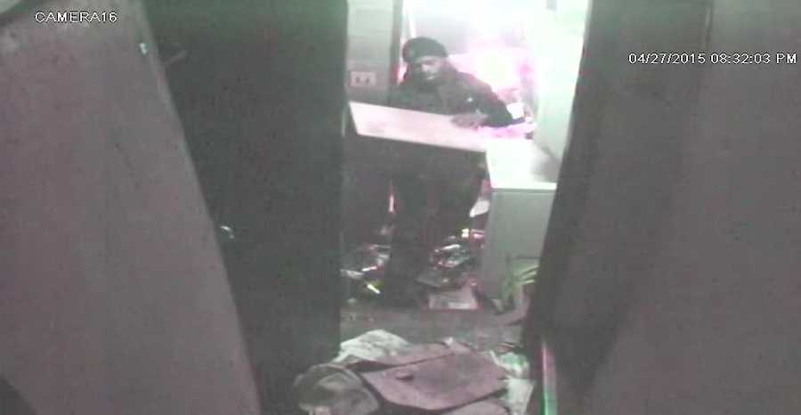 Arson at Fireside North Liquor Store at 2201 W. North Avenue. The ATF, Baltimore Police Department and Maryland State Fire Marshal's Office are offering up to a $10,000 reward for information leading to the identification, arrest and conviction of the individual pictured above. Anyone with information is urged to call. Your identity can remain confidential. Call 888–ATF-FIRE or 888-283-3473.
