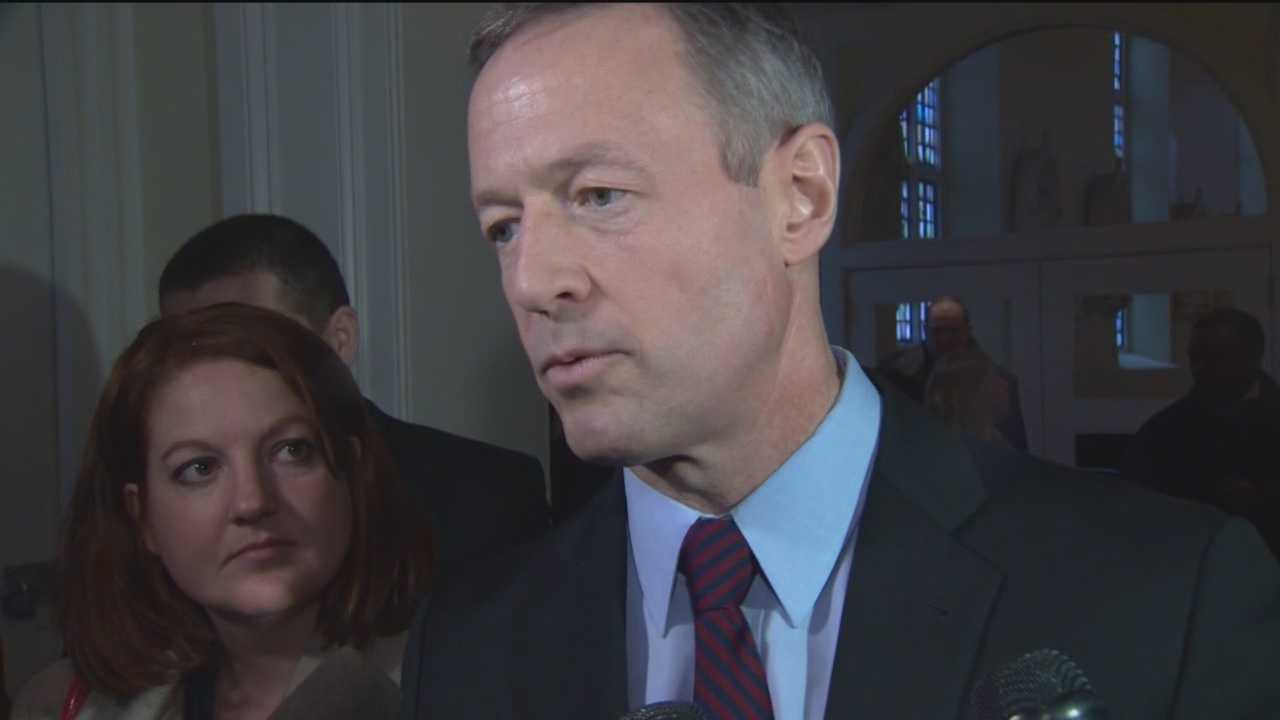Next week former Democratic Gov. Martin O'Malley is expected to officially announce that he's running for president.