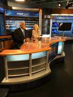Rod during his last 6 p.m. newscast