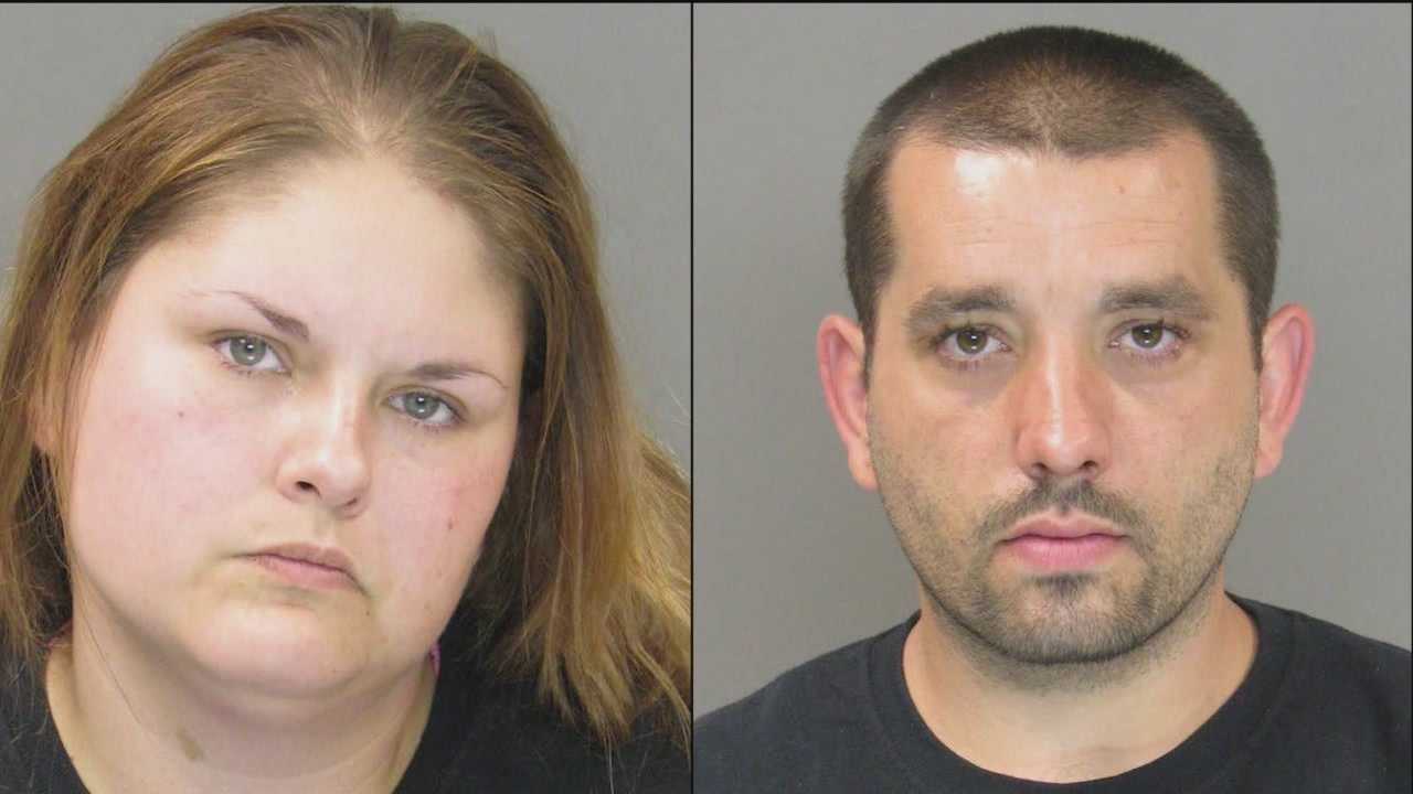 Police said two people posing as a cleaning crew stole from a Baltimore County woman's home.