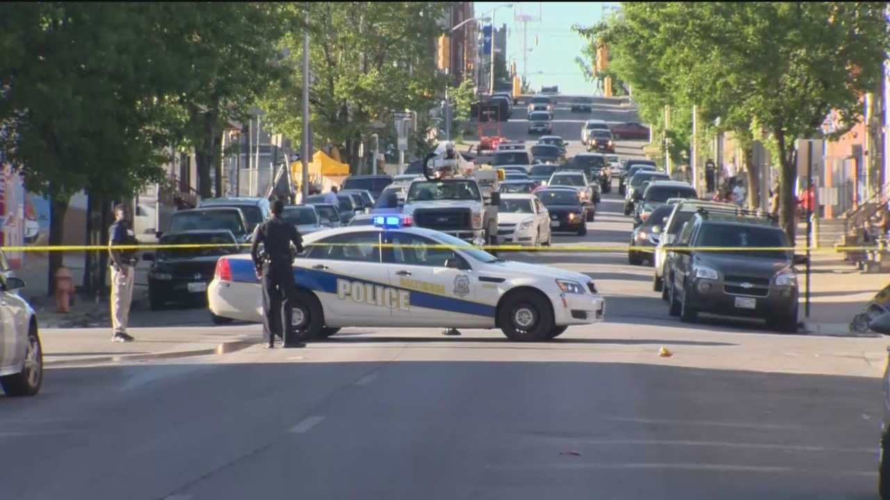 Several shootings mar the Memorial Day weekend in Baltimore.
