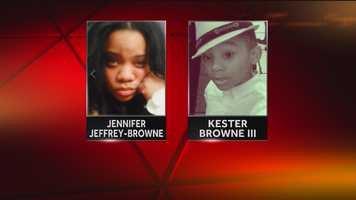 A mother and her 7-year-old son were found dead from gunshot wounds to the head in their southwest Baltimore home.