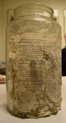Jar No. 2 - With the Declaration of Independence Laid on Top