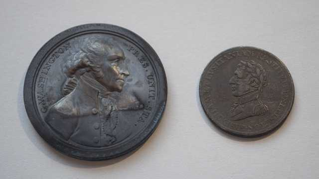 Jar No. 1 – The Washington and Duke of Wellington Medals