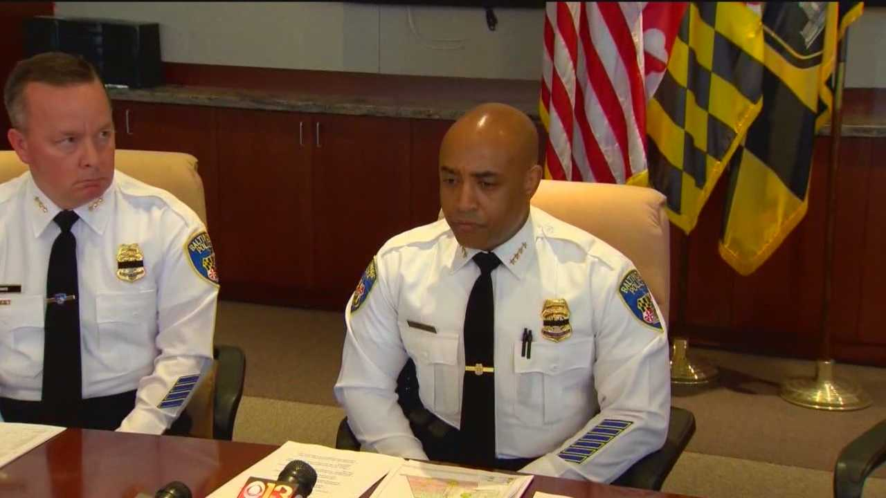 Leaders of the advocacy group that represent minority police officers in the city have some harsh words for Baltimore Police Commissioner Anthony Batts.