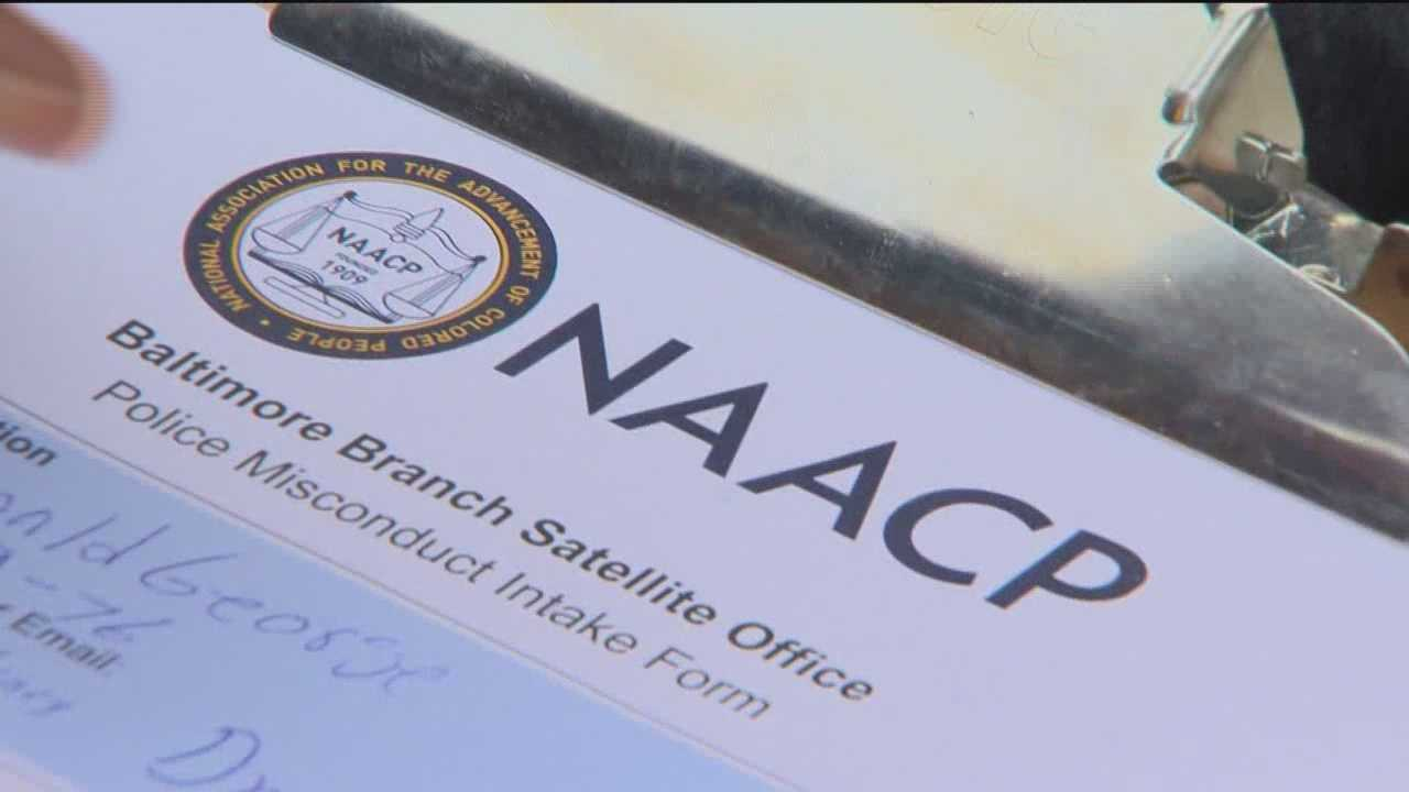 The Baltimore branch of the NAACP is going directly to city residents to find out what they've experienced with the Baltimore police.