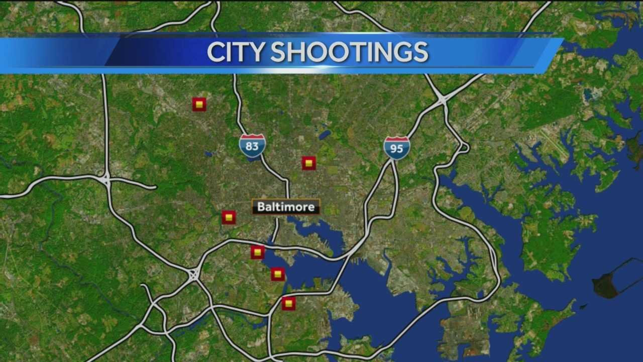 Police are investigating the shootings of at least seven people, two of which were deadly.