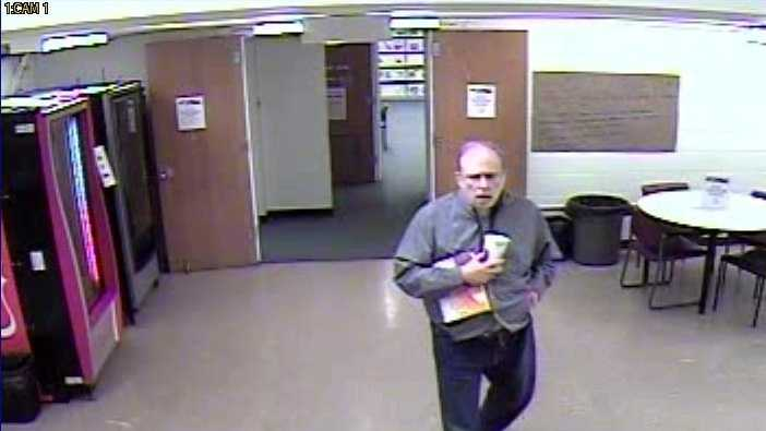 Police said Timothy Getka was last seen on surveillance video at the Catonsville Library on Monday morning.