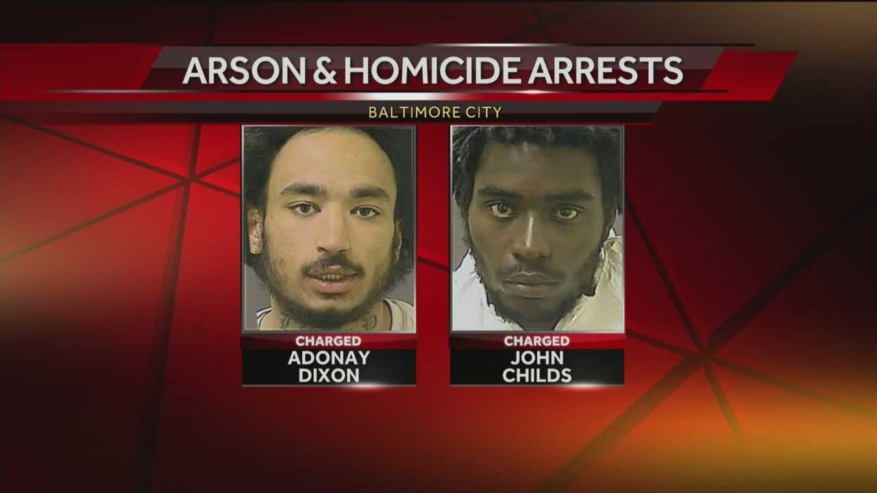 Adonay Dixon, 23, and John Childs, 20, are accused of sexually assaulting and killing Arnesha Bowers.