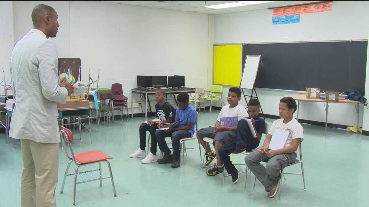 Exposing young men to success is how one group is responding to youth violence in Baltimore.