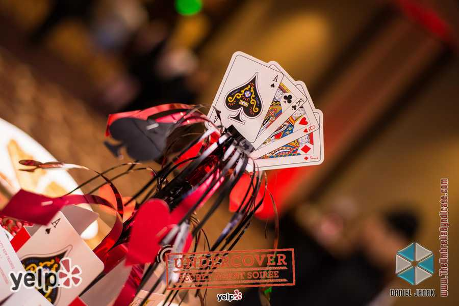 """Yelp UNDERCOVER: Secret Agent Soirée at Horseshoe Casino"" - Yelp Baltimore set the mood"