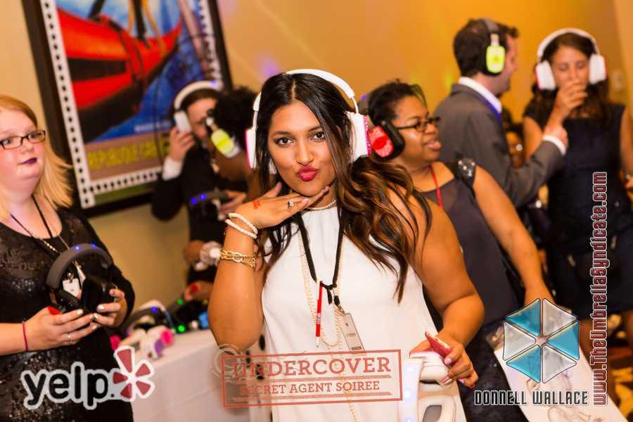 """Yelp UNDERCOVER: Secret Agent Soirée at Horseshoe Casino"" - Silent Disco by Silent Storm"
