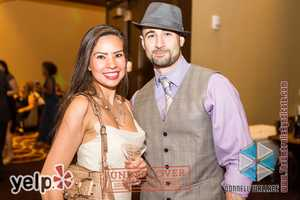 """Yelp UNDERCOVER: Secret Agent Soirée at Horseshoe Casino"" - Yelpers enjoying the party"