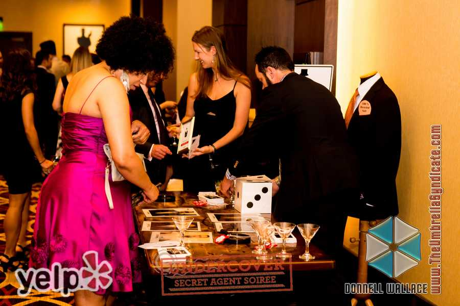 """Yelp UNDERCOVER: Secret Agent Soirée at Horseshoe Casino"" - Donations made to Baltimore Fashion Alliance's nonprofit, ""Sharp Dressed Man"""