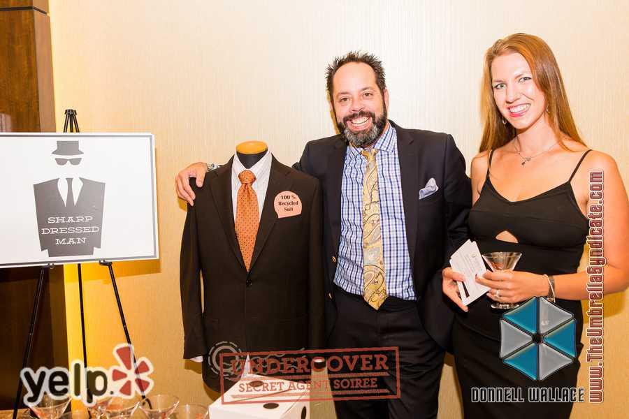 """Yelp UNDERCOVER: Secret Agent Soirée at Horseshoe Casino"" - Baltimore Fashion Alliance's ""Sharp Dressed Man"""