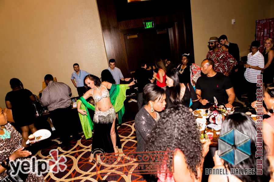 """Yelp UNDERCOVER: Secret Agent Soirée at Horseshoe Casino"" - Yelpers enjoying the party"