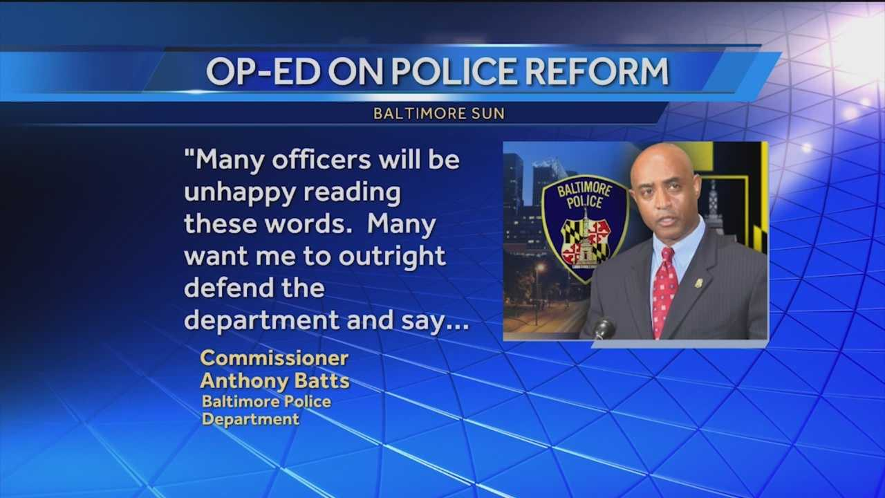 It seems Batts came out swinging with strong comments for his critics. He discussed how he plans on reforming the Police Department.