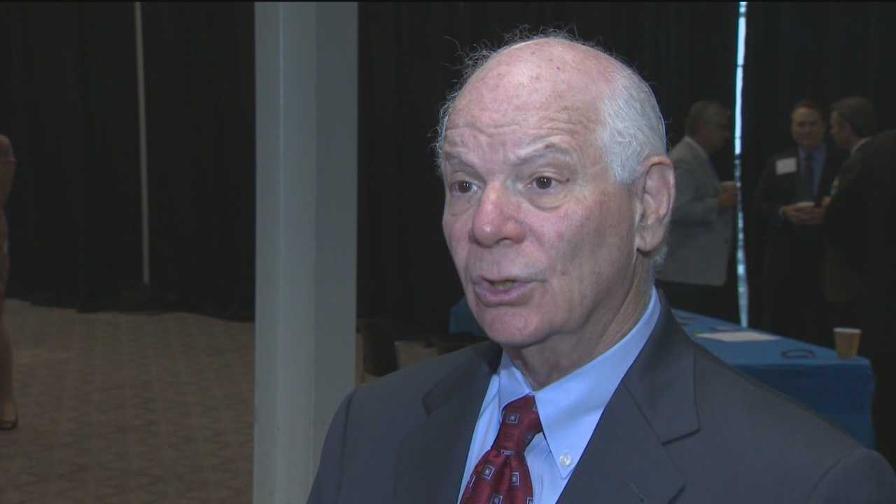 U.S. Sen. Ben Cardin talks about the future of Maryland and the business community after the federal government denied disaster funds for the civil unrest.