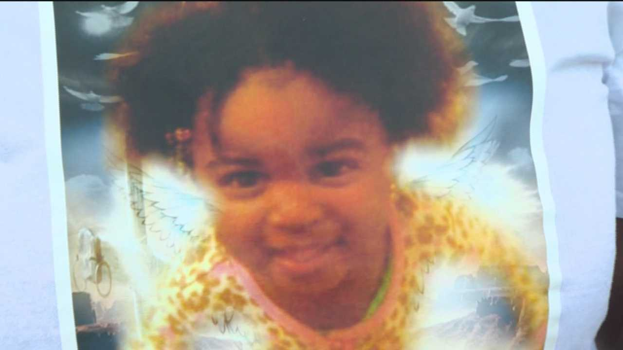 Family and friends gathered in northeast Baltimore Wednesday evening at a vigil for the 2-year-old girl who died after being found in a hot car on Monday.