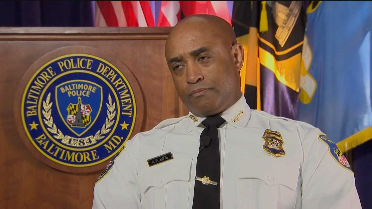 """I take threats very seriously. I don't play with them,"" Police Commissioner Anthony Batts said."