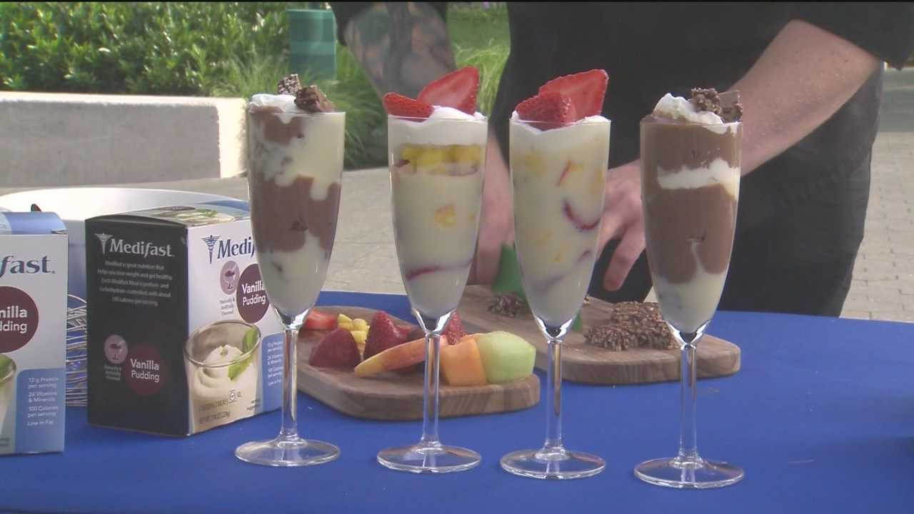 People can get their hands on healthy snacks Sunday at the Inner Harbor as part of the Waterfront Partnership's Waterfront Wellness Program.