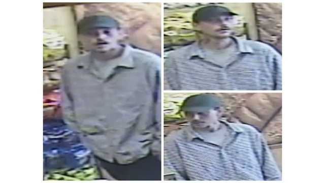 Anne Arundel County police said this man is suspected of robbing a Subway on June 28, 2015.
