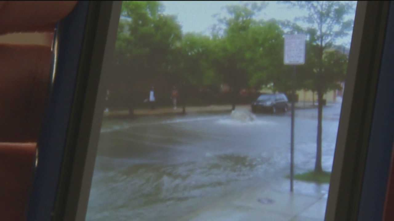 More than 200,000 gallons of raw sewage overflowed in three locations in Baltimore City after the weekends heavy rain storms.