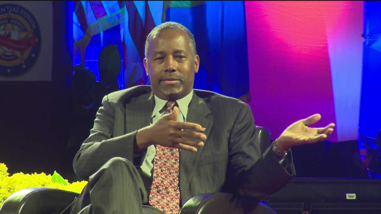 Dr. Ben Carson is in a crowded Republican race, but he may have set himself apart Tuesday from what's typically been a firm law-and-order stance in the GOP on this issue.