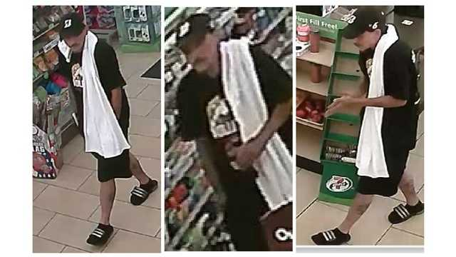 Howard County police said this man is suspected of robbing a 7-Eleven store on June 27, 2015 in Laurel.