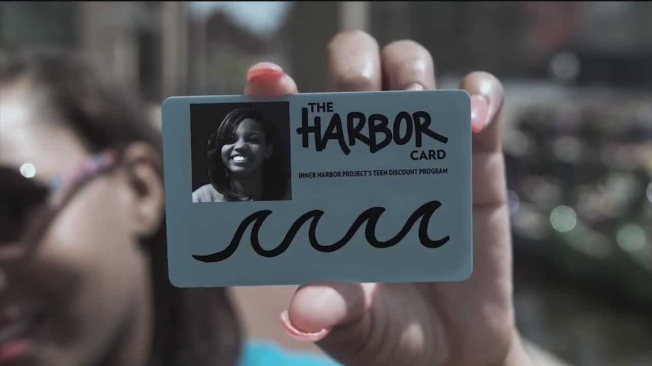 Baltimore youth can apply for a card that will give them discounts at Inner Harbor businesses.