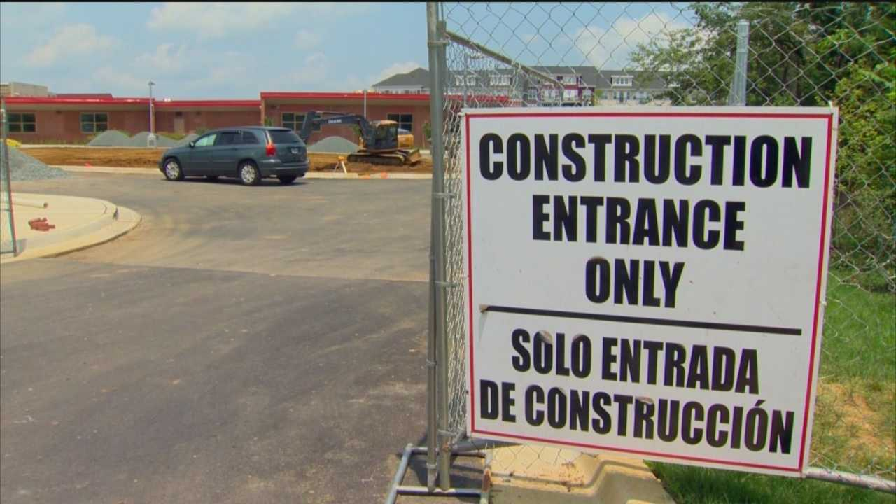 Construction crews are working feverishly in Anne Arundel County to work on renovating schools before students return to class.