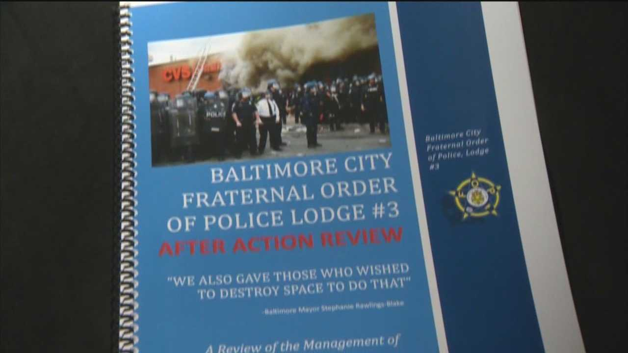 FOP Lodge 3 President Gene Ryan said during a news conference that the riots and unrest were preventable and that the injuries to more than 200 officers could have been avoided or at least minimized.