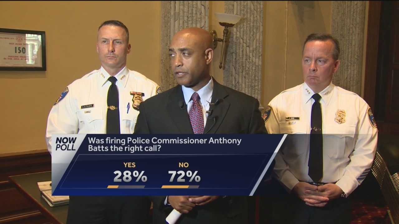 Some in City Hall said Anthony Batts should have been fired as police commissioner long before Wednesday while others wonder if he was the fall guy for the recent spike in Baltimore crime.