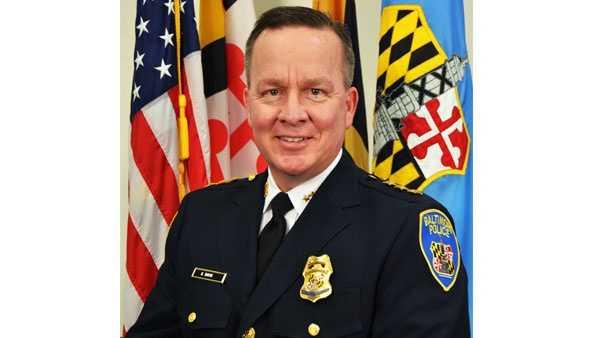 Interim Baltimore Police Commissioner Kevin Davis