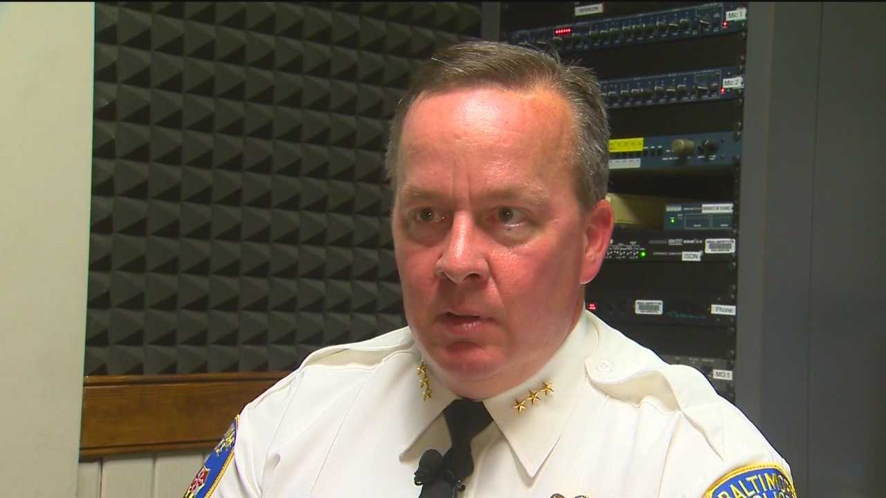 Interim Baltimore Police Commissioner Kevin Davis pledges to get back to police work and stem the pace of violent crime.