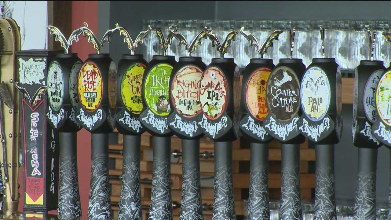 There's more to making quality craft beer than one might think. Ryan Haynes, cellarman with Flying Dog Brewery in Frederick, said there is a lot of science involved in the process, including understanding pH levels.