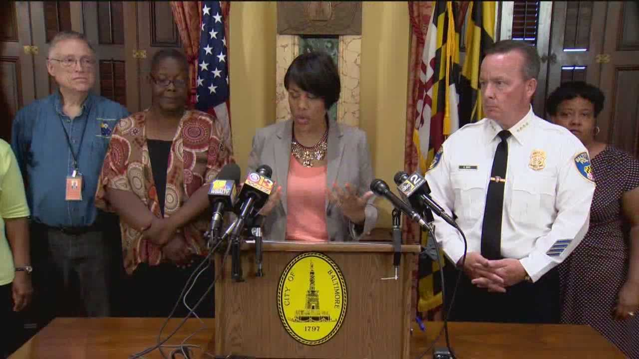 Baltimore will be holding a series of public safety forums to help find ways to combat violent crime in the city.