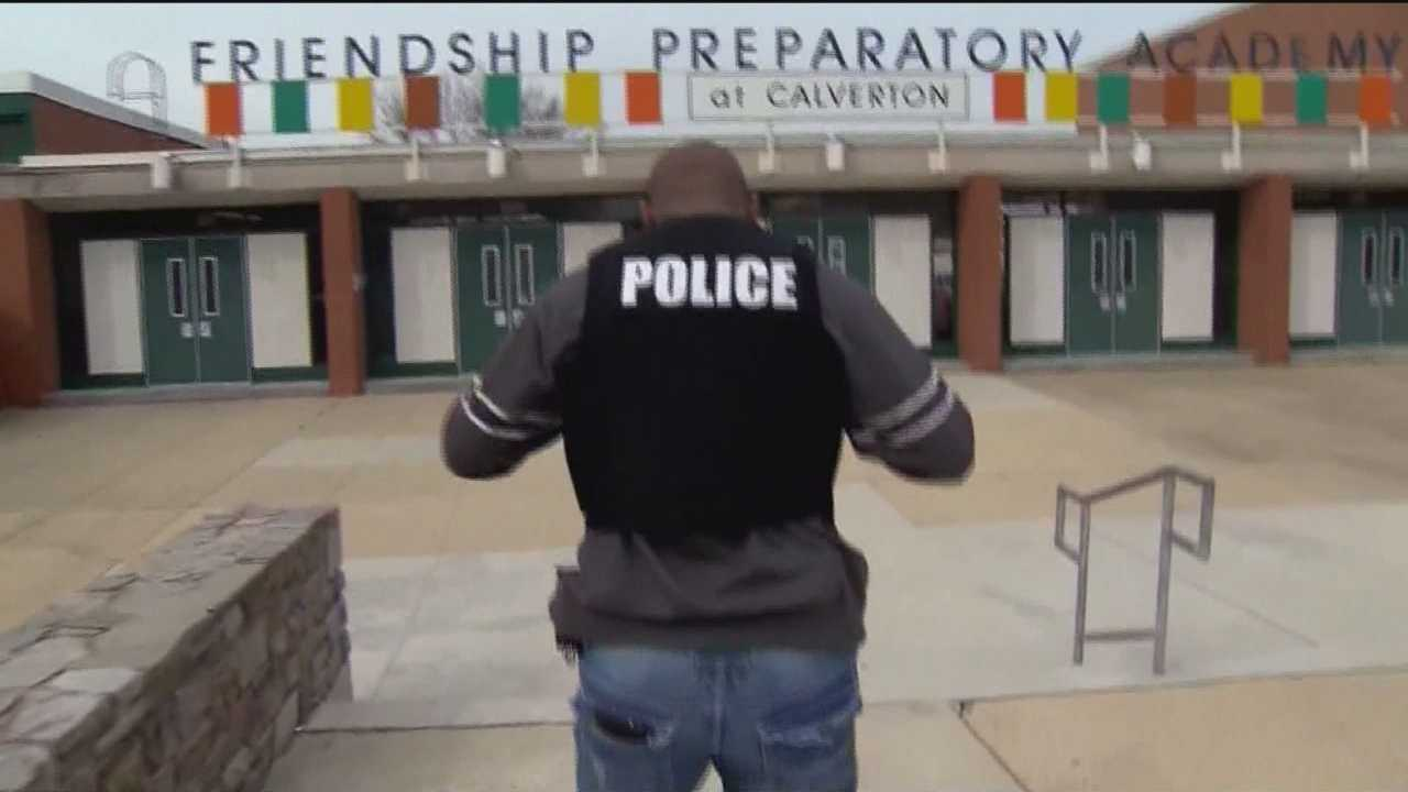 Baltimore City schools are working on improving guidelines on how to best utilize police officers in schools.