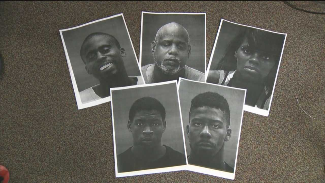 Baltimore police announce several new arrests of people they say were involved in recent shootings and homicides.