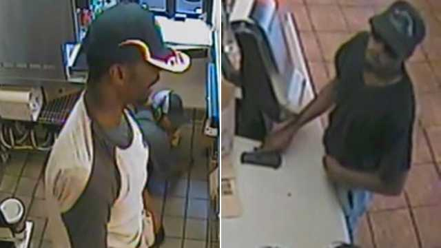 The FBI said these men are responsible for at least three armed robberies in Linthicum in recent weeks.