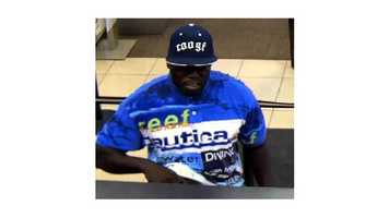 The FBI said this man may be responsible for about a dozen robberies in the Baltimore area.