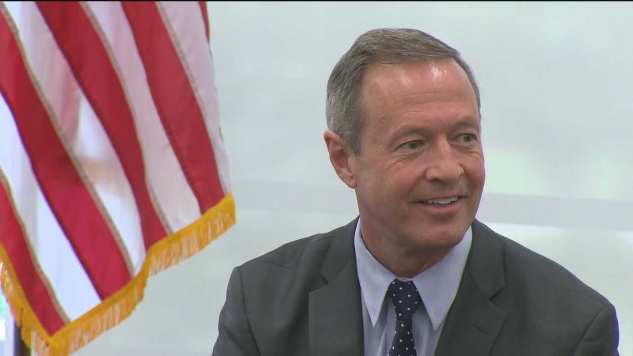 As president, former Maryland Gov. Martin O'Malley wants to be the new sheriff on Wall Street, bringing his zero-tolerance policing policy with him.