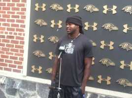 Rookie wide receiver Breshad Perriman was selected in the first round of the 2015 NFL Draft.