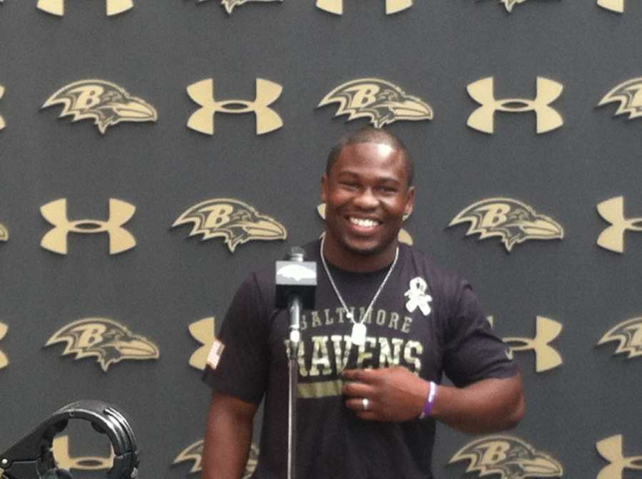 Ravens running back Justin Forsett is out to improve on last season's career year for him