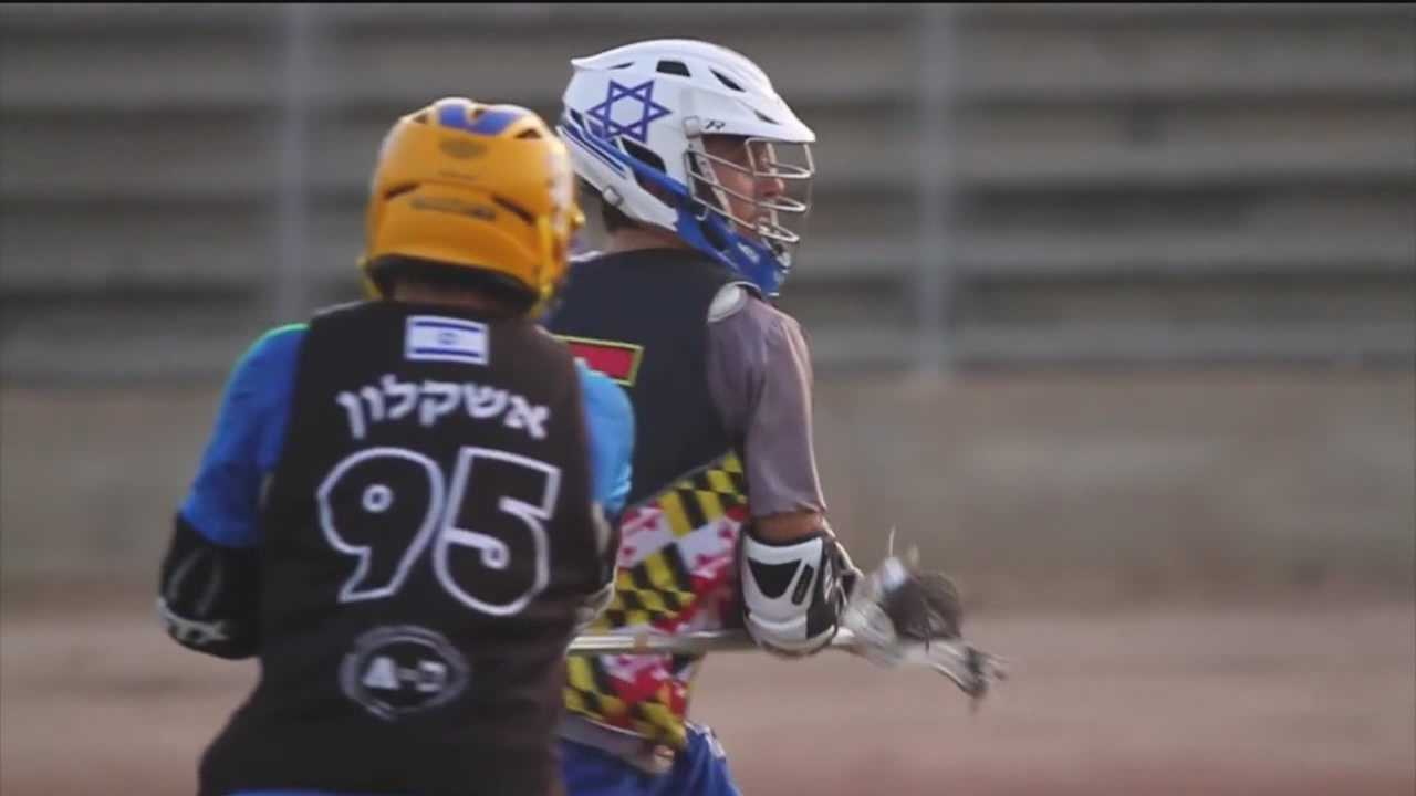 A group of athletes is visiting Maryland on a special scholarship, learning new skills they plan to take home to grow lacrosse in Israel.